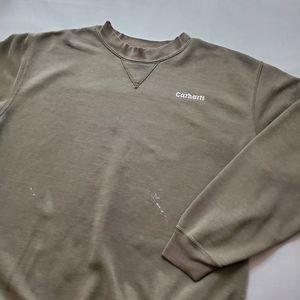 Carhartt | Distressed Y2K Crewneck Sweatshirt 00's